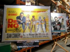 About 400 original film posters are going up for auction (Andrew Matthews/PA)