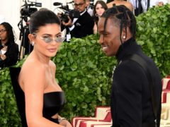 Kylie Jenner wished 'hubby' Travis Scott a happy birthday in Instagram (Ian West/PA)