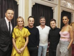 Presenters Ant and Dec join the BGT judges (Tom Dymond/Syco/Thames ITV)