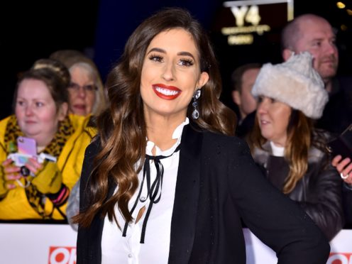 Stacey Solomon has spoken about her experiences after giving birth (Matt Crossick/PA)