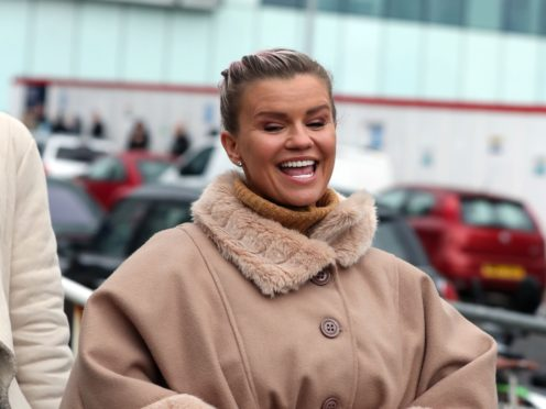 Kerry Katona has been fined for failing to send one of her children to school (Steve Parsons/PA)