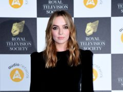 Jodie Comer on 'weird experience' when male fans waited for her at airport (Ian West/PA)