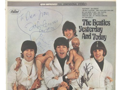 A rare and controversial Beatles record once belonging to John Lennon has sold at auction for £180,000 (Julien's Auctions/PA)