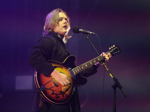 Lewis Capaldi has become known for his self-mocking videos and pictures (Andrew Milligan/PA)