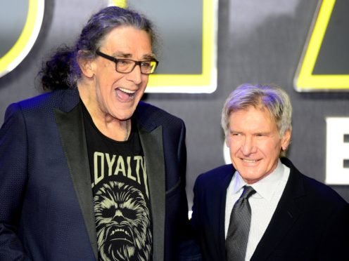 Harrison Ford has paid tribute to the late Star Wars actor Peter Mayhew (Anthony Devlin/PA)