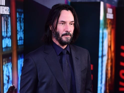 Keanu Reeves attending the John Wick screening at Ham Yard Hotel, London (Ian West/PA)