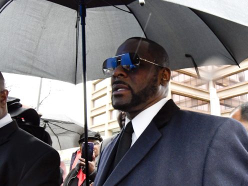 R Kelly was charged in February with 10 counts of sexual abuse (Matt Marton/AP)