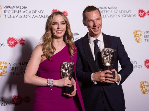 Jodie Comer and Benedict Cumberbatch (PA)