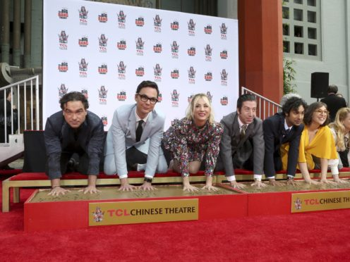 Fans have been saying their goodbyes to US sitcom The Big Bang Theory as its final episode hit the air (Willy Sanjuan/Invision/AP)