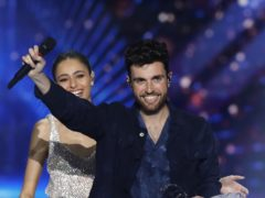 Duncan Laurence of the Netherlands was the winner of the 2019 Eurovision Song Contest (AP Photo/Sebastian Scheiner)