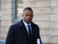 Former JLS singer Oritse Williams arriving at Wolverhampton Crown Court for the second week of a rape trial (Matthew Cooper/PA)
