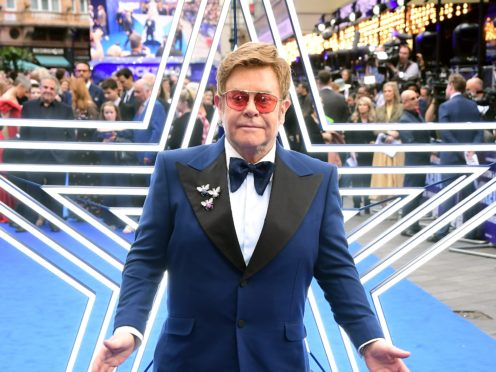 Elton John on not wanting to tone down 'sex and drugs' in Rocketman (Ian West/PA)