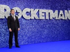 Taron Egerton attending the Rocketman UK Premiere, at the Odeon Luxe, Leicester Square, London. (Ian West/PA)