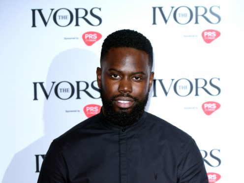 Grime rapper Ghetts at the Ivor Novello Songwriting Awards in London (Ian West/PA)