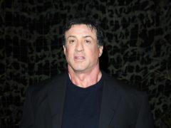 Sylvester Stallone (Joel Ryan/PA)