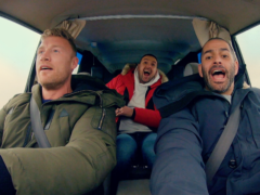 Paddy McGuinness and Freddie Flintoff feature in a new Top Gear trailer (BBC Two)