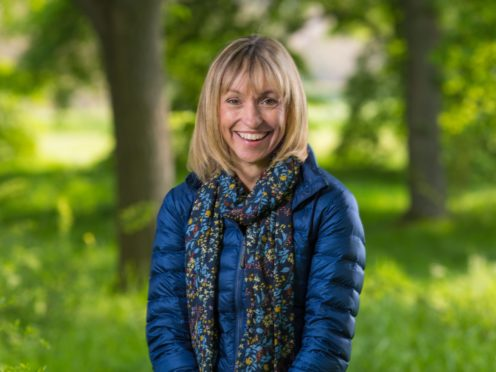 Michaela Strachan (BBC/Jo Charlesworth)