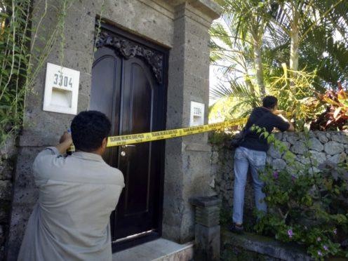 (Denpasar Police via AP)