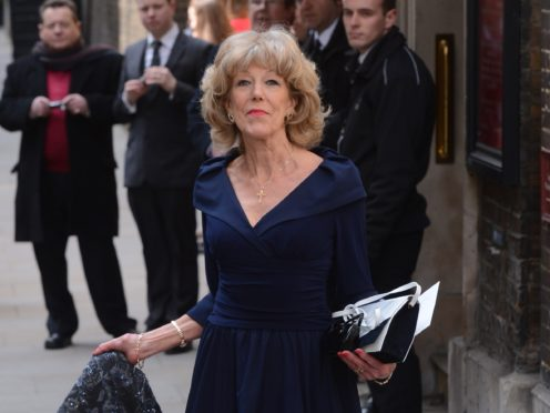 Sue Nicholls has starred on the cobbles for 40 years (Stefan Rousseau/PA)