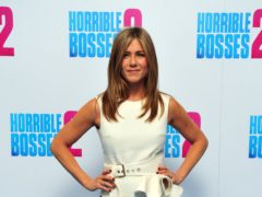 Jennifer Aniston's comedy Murder Mystery is proving popular on Netflix (Nick Ansell/PA)