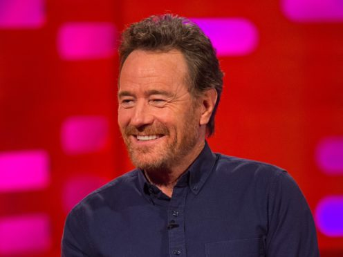Bryan Cranston has hinted that the Breaking Bad film is almost complete (Dominic Lipinski/PA)