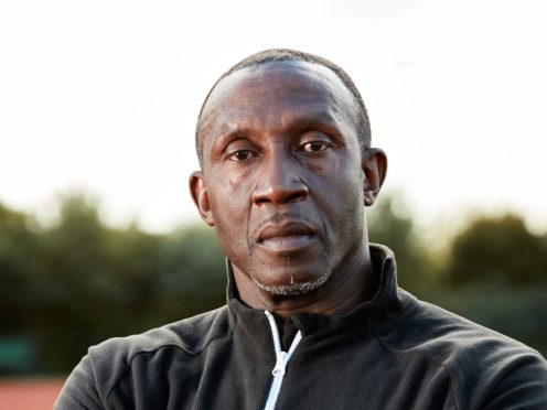 Linford Christie will feature in the show. (Dennis Morris/Prostate Cancer UK)