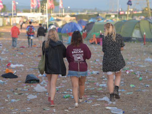 Around 200,000 people are preparing to head to Glastonbury Festival this week (Ben Birchall/PA)
