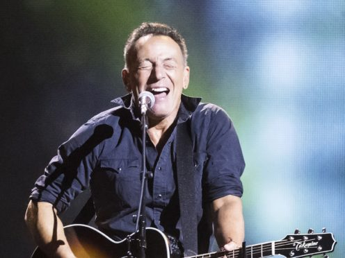 Bruce Springsteen thrashes Madonna in race to number one (Danny Lawson/PA)