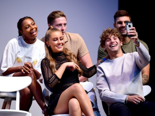 Last year's Love Island contestants including Samira Mighty, Dr Alex George, Adam Collard, Georgia Steele and Eyal Booker (Ian West/PA)