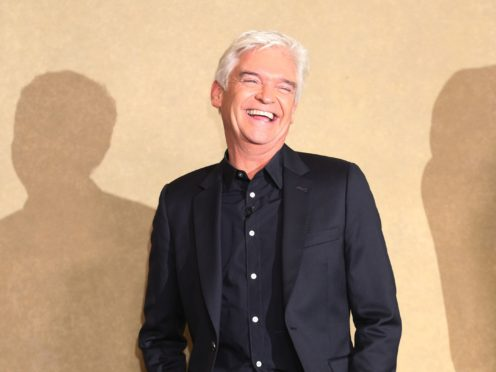 Phillip Schofield has said he will take claims of a rift between him and Amanda Holden 'on the chin' (Yui Mok/PA)
