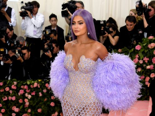 Kylie Jenner told her Instagram followers that she spent a day in hospital after her daughter Stormi suffered an allergic reaction (Jennifer Graylock/PA)