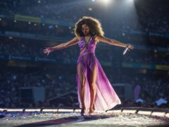 Spice Girl Mel B on stage (Andrew Timms/PA)