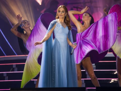 Geri Horner of the Spice Girls (Andrew Timms/PA)