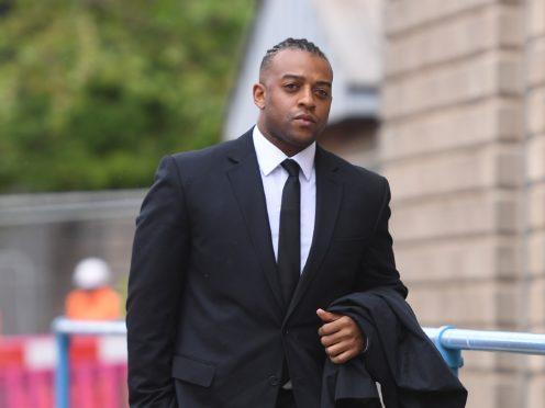 Former JLS singer Oritse Williams arrives at Wolverhampton Crown Court (Joe Giddens/PA)