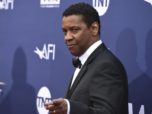 Denzel Washington was honoured with a lifetime achievement award by the AFI (Jordan Strauss/Invision/AP)