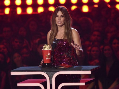 Sandra Bullock was among the winners at the MTV Movie & TV Awards (Chris Pizzello/Invision/AP)