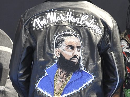 Late rapper Nipsey Hussle was posthumously honoured at the BET Awards (Richard Shotwell/Invision/AP)