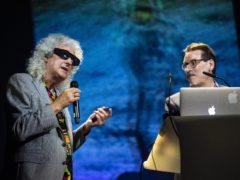 Brian May at the Starmus V Festival (Max Alexander)