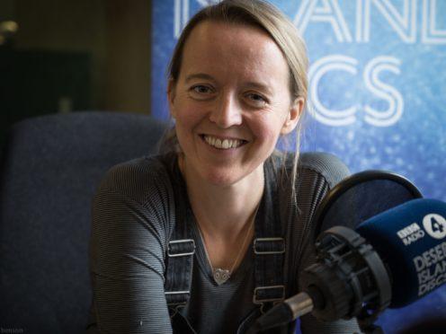 Emily Eavis said the festival could be 'scary' (Amanda Benson/BBC)