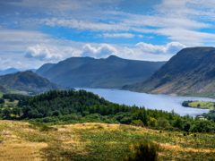 Brackenthwaite Hows has views over Crummock Water (John Malley/National Trust/PA)