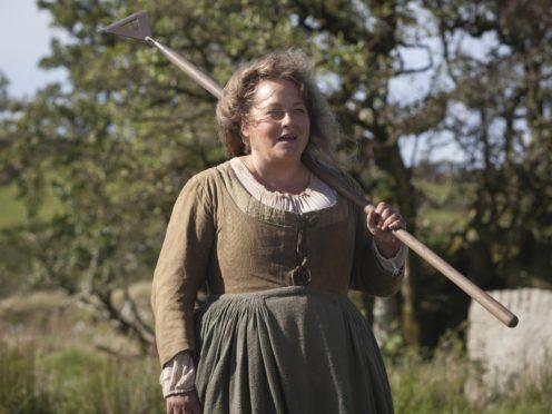 Beatie Edney playing Prudie in Poldark (Adrian Rogers/BBC/PA)