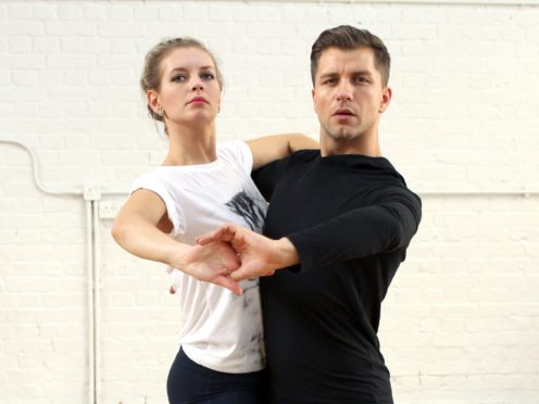 Rachel Riley and her husband Pasha Kovalev when they appeared on Strictly (Steve Parsons/PA)