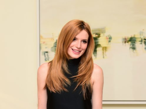Actress Bella Thorne has come out as pansexual (Ian West/PA)