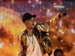 Justin Bieber has defended his manager, Scooter Braun, against allegations from Taylor Swift (Dominic Lipinski/PA)