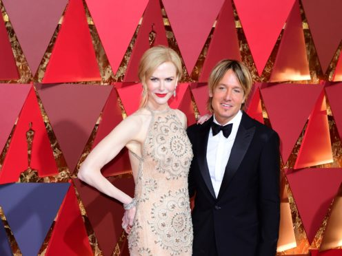 Nicole Kidman and Keith Urban (Ian West/PA)