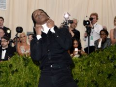 A petition has been launched to get rapper ASAP Rocky released from detention in Sweden (Aurore Marechal/PA)