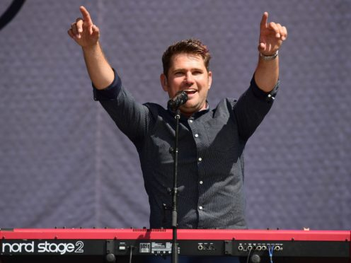 Roy Stride of Scouting For Girls (Ian West/PA)