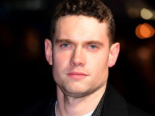 Tom Brittney stars in the series alongside Robson Green (Ian West/PA)