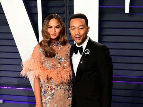 Chrissy Teigen and John Legend's son Miles has taken his first steps (Ian West/PA)