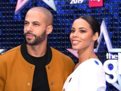 Rochelle and Marvin Humes have been married for seven years (Scott Garfitt/PA)